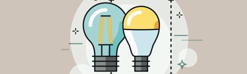 Lampunvalintaohje auttaa valitsemaan oikeanlaiset led-valot.
